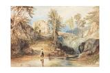 Saltwell Dene, Saltwell Park Giclee Print by Thomas Miles Richardson