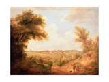 Landscape with House, 18th Century Giclee Print by Thomas Gainsborough