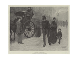 Old Chums, in the Exhibition of the Royal Society of British Artists Giclee Print by Theodore Flavel Cook