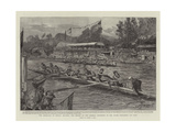 The Americans at Henley Regatta Giclee Print by Sydney Prior Hall