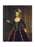 Portrait of the Hon. Mrs. William Townshend Giclee Print by Thomas Gibson