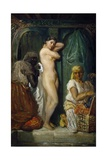 Bathing in Seraglio, 1849 Giclee Print by Theodore Chasseriau