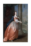 Anne, Countess of Northampton, C.1759-60 Giclee Print by Thomas Hudson