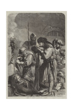Death of Richard II Giclee Print by Sir John Gilbert