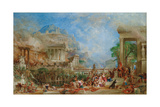 The Sack of Corinth, 1870 Giclee Print by Thomas Allom