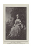 Portrait of Mrs Robinson Giclee Print by Thomas Gainsborough