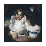Calmady Children, 1823 Giclee Print by Thomas Lawrence