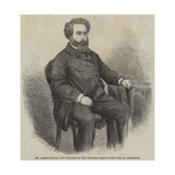 Mr James Hodges, the Builder of the Victoria Bridge over the St Lawrence Giclee Print by Thomas Harrington Wilson
