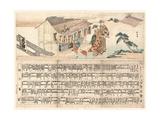 Tennogu No Chozuba Giclee Print by Teisai Hokuba