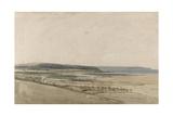 Estuary of the River Taw, Devon, C.1801 Giclee Print by Thomas Girtin