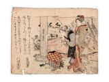 Haru No Noasobi Giclee Print by Teisai Hokuba