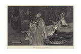 Between Hope and Fear, in the Exhibition of the Royal Academy Giclee Print by Sir Lawrence Alma-Tadema