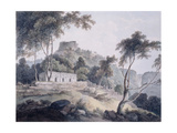 Rajghat, Rohtasgarh, Bihar Giclee Print by Thomas & William Daniell