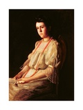 The Coral Necklace, 1904 Giclee Print by Thomas Cowperthwait Eakins