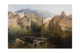 The Old Mill, Ambleside, Cumbria, C.1822 Giclee Print by Thomas Miles Richardson