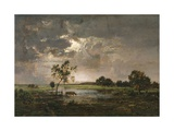 Landscape, C.1842 Giclee Print by Theodore Rousseau