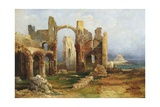 Lindisfarne Priory, C.1837 Giclee Print by Thomas Miles Richardson