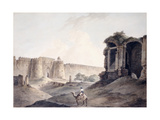 The Purana Qila, Delhi Giclee Print by Thomas & William Daniell