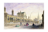 Palmer's Alms Houses, Tothill Fields Giclee Print by Thomas Hosmer Shepherd
