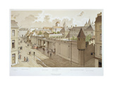 View of the Temple in 1770 from 'Paris Through the Ages', 1885 Giclee Print by Theodor Josef Hubert Hoffbauer