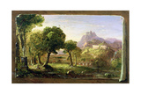 Study for Dream of Arcadia, 1838 Giclee Print by Thomas Cole