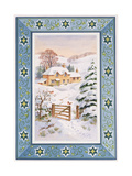 Christmas Cottage Giclee Print by Stanley Cooke