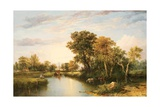 The Thames Valley, 1823 Giclee Print by Thomas Miles Richardson