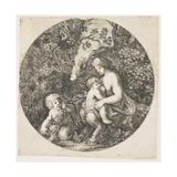 The Satyr's Wife, 1656 Giclee Print by Stefano Della Bella