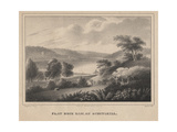 Flat Rock Dam, on Schuykill, Engraved by Moses Swett, 1827 Giclee Print by Thomas Doughty