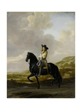 Pieter Schout on Horseback, 1660 Giclee Print by Thomas de Keyser