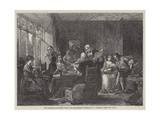 The Marriage Settlement, Time of the Restoration Giclee Print by Thomas Falcon Marshall