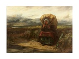 And with the Burden of Many Years, 1888 Giclee Print by Thomas Faed