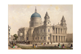 St. Paul's Cathedral from the North West Giclee Print by Thomas Hosmer Shepherd