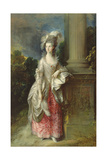 The Hon. Mrs. Graham Giclee-trykk av Gainsborough, Thomas