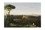 Italian Scene Composition, 1833 Giclee Print by Thomas Cole