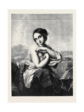 Italian Girl at a Fountain Giclee Print by Thomas de Keyser