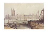 The New Houses of Parliament Giclee Print by Thomas Colman Dibdin
