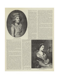 Fair Celebrities of Bygone Days Giclee Print by Thomas Gainsborough