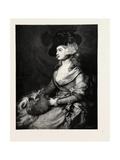 Mrs. Siddons, 1890, UK, Britain, British, United Kingdom, Great Britain, Europe, European Giclee Print by Thomas Gainsborough