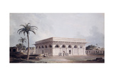 The Chaunsath Khamba Nizamuddin, Delhi Giclee Print by Thomas & William Daniell