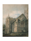 The Ancient Charnel House Giclee Print by Thomas Girtin