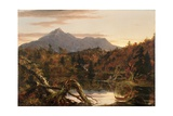 Autumn Twilight, View of Corway Peak, 1834 Giclee Print by Thomas Cole