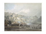 View of Chepstow Giclee Print by Thomas Girtin