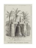 The Great Bell at Mandalay, Burmah Giclee Print by Thomas Harrington Wilson