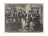 The Arrest of Louis XVI and His Family, at Varennes Giclee Print by Thomas Falcon Marshall