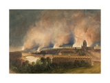 Bristol Seen from Pile Hill, on the Night of the 30th October, 1831, 1832 Giclee Print by Thomas Leeson the Elder Rowbotham