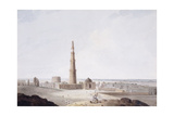 The Qutb Minar, Delhi, C. 1789 Giclee Print by Thomas & William Daniell