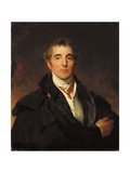 Portrait of Arthur Wellesley, 1st Duke of Wellington, C.1821 Giclée-tryk af Thomas Lawrence