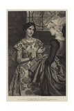 Katharine of France Giclee Print by Sir Lawrence Alma-Tadema