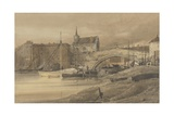Ouse Bridge, York, 1800 Giclee Print by Thomas Girtin